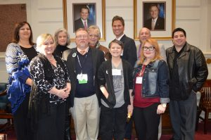 Mentoring group at state capitol